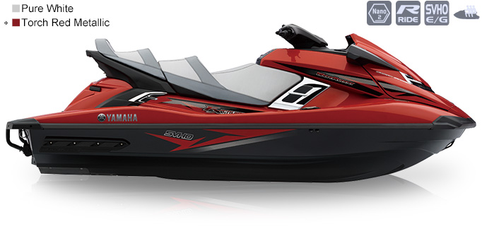 3FX Cruiser SVHO赤