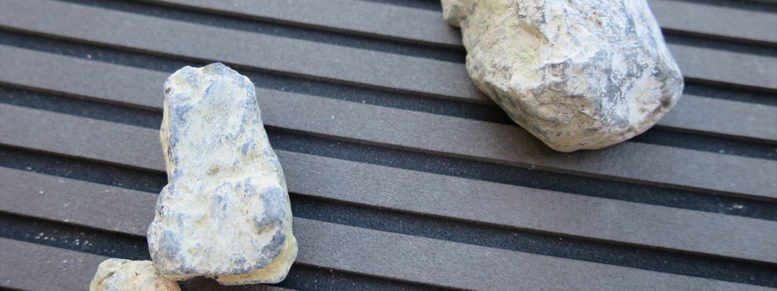 ポンプ石噛み修理