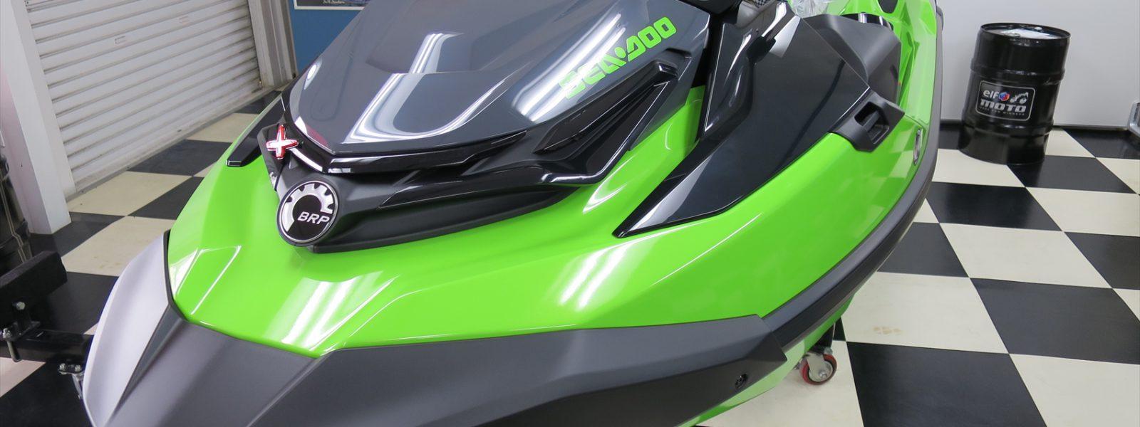 新艇!2020年モデル シードゥーRXT-X300 グリーンご紹介!