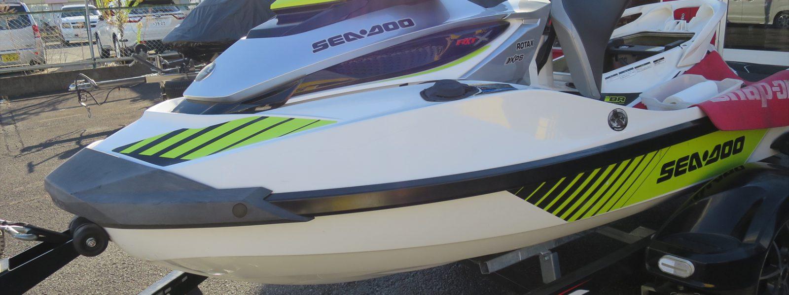 シードゥーRXT-X300RS シーズンオフメンテナンス!