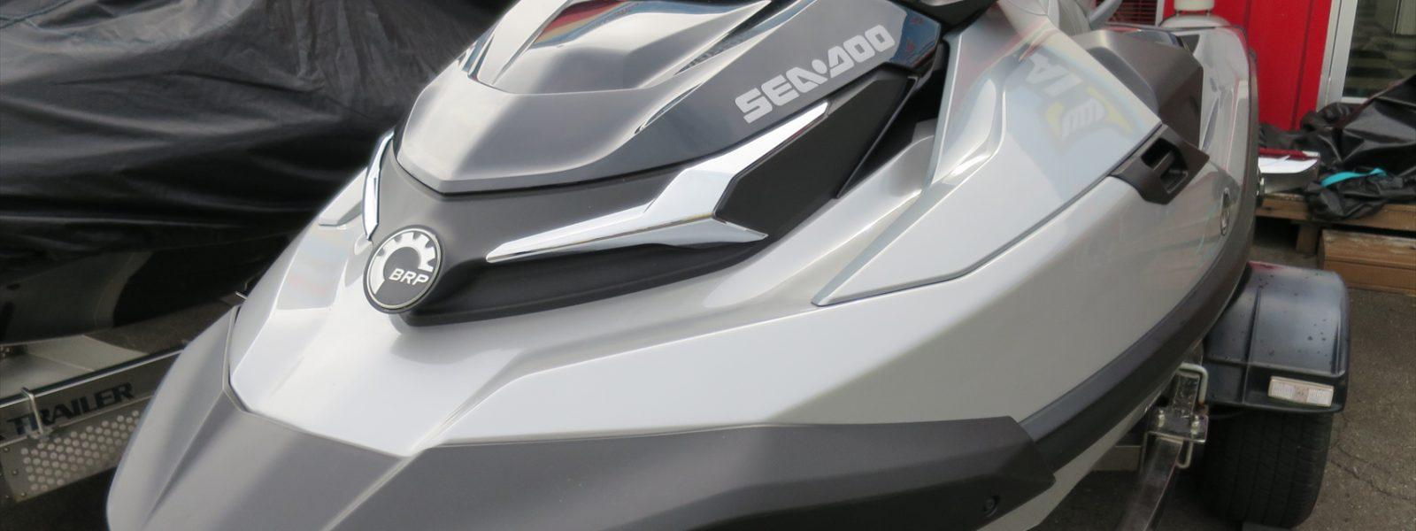 SEADOO GTX Limited300 & RXT-X300 メンテナンス!